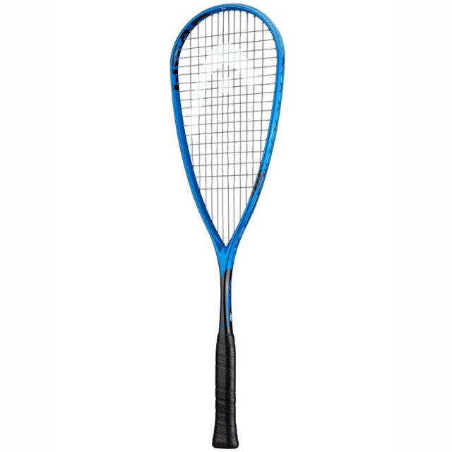 [ガット張上済]ヘッド(HEAD) エクストリーム 120 (120g) 海外正規品 スカッシュラケット 212019-ブルー×ブラック(19y10m)