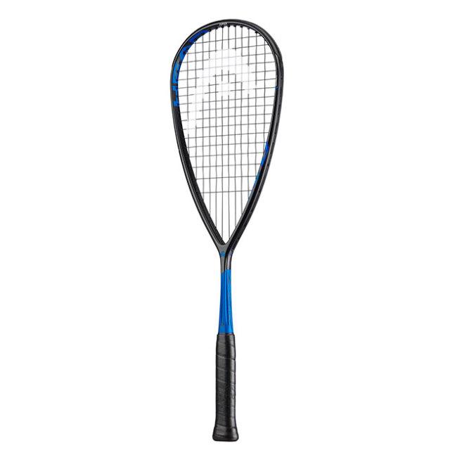 ヘッド(HEAD) グラフィン 360 スピード 120 (120g) 海外正規品 スカッシュラケット 211019-ブラック×ブルー(19y7m)[AC]
