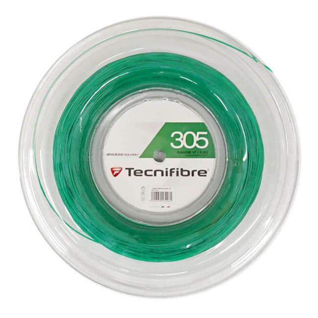 テクニファイバー(Tecnifibre) 305 グリーン 17(1.20mm) 200Mロール スカッシュ マルチフィラメントガット (19y4m)