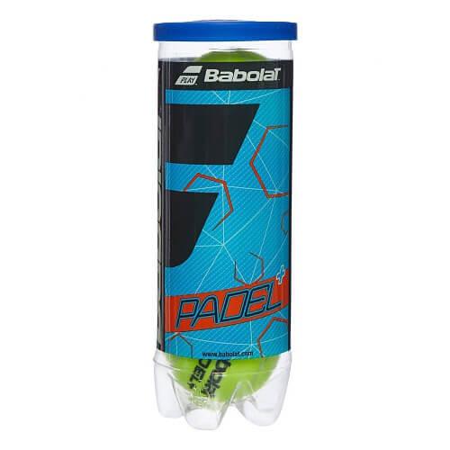 [パデルボール]バボラ(Babolat) Padel +(パデルプラス) 1缶3球入り パデルボール (19y4m)