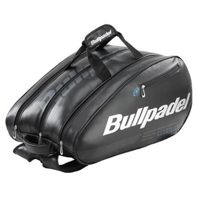[パデルラケット収納可]ブルパデル(Bullpadel) ミッド キャパシティ パデル バッグ BPP19003-005ブラック(19y7m)