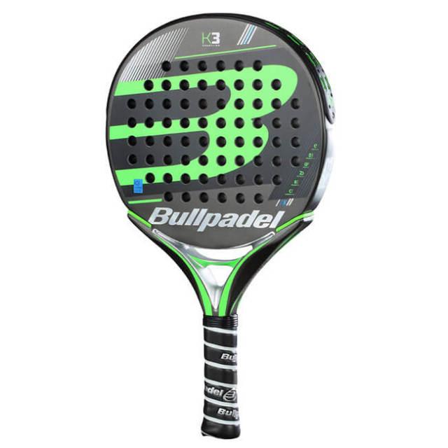 ブルパデル(Bullpadel) K3 18 海外正規品 パデル ラケット 453577-ブラック×グリーン(19y7m)[AC]