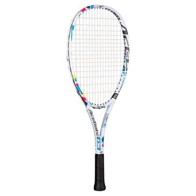 [ソフトテニス ジュニア用]ヨネックス(YONEX) 2020 エースゲート 63 (ACEGATE 63) 国内正規品 ソフトテニスラケット ACE63G-011 ホワイト(20y3m)[AC]