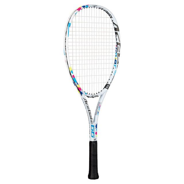 [ソフトテニス ジュニア用]ヨネックス(YONEX) 2020 エースゲート 66 (ACEGATE 66) 国内正規品 ソフトテニスラケット ACE66G-011 ホワイト(20y3m)[AC]