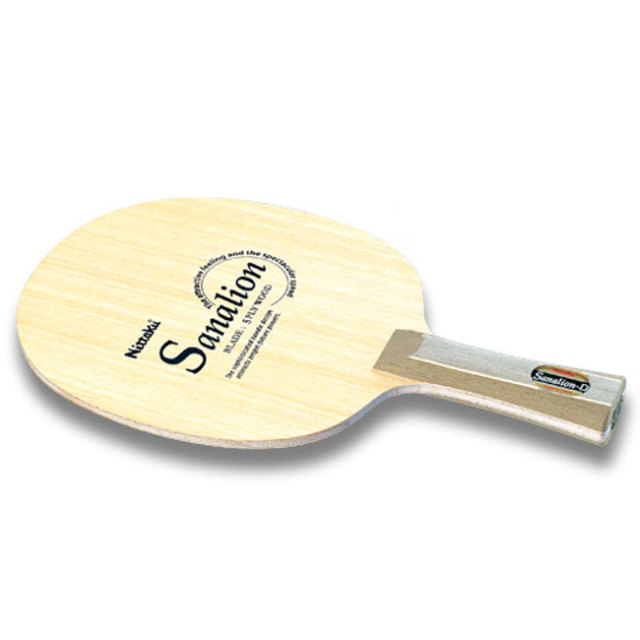 ニッタク(Nittaku) サナリオン D(SANALION D) FL シェークハンド カット用 卓球ラケット NE-6779(19y7m)
