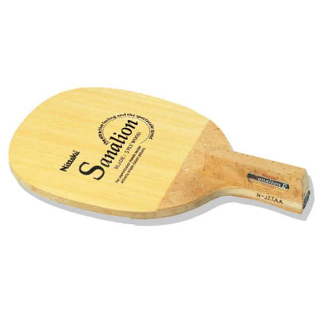 [日本式角丸型]ニッタク(Nittaku) サナリオン R(SANALION R) ペンホルダー オールラウンド日本式タイプ 卓球ラケット NE6651(19y7m)