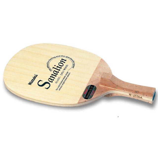 [反転式角丸型]ニッタク(Nittaku) サナリオン R-H(SANALION R-H) ペンホルダー オールラウンド反転タイプ 卓球ラケット NE-6654(19y7m)