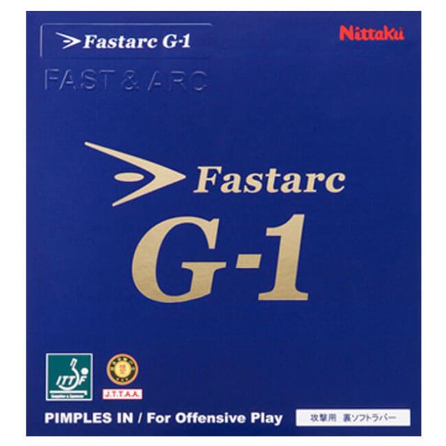 [テンション系]ニッタク(Nittaku) ファスターク G-1 裏ソフトラバー 攻撃用 卓球ラバー NR-8702(19y7m)