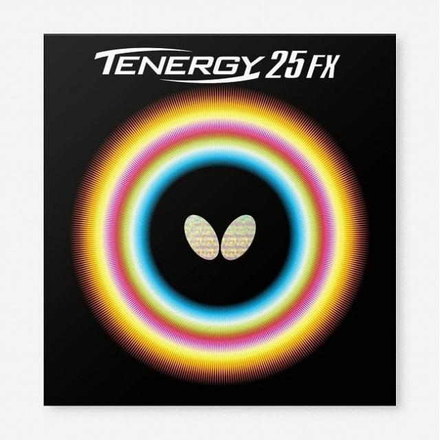 バタフライ(Butterfly) TENERGY 25FX テナジー 25エフエックス ハイテンション裏ラバー 卓球ラバー 05910(21y8m)