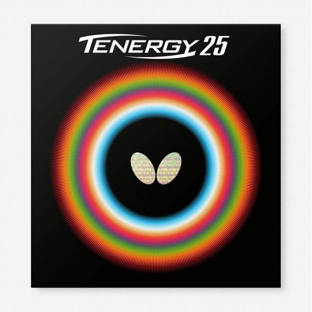 バタフライ(Butterfly) TENERGY 25 テナジー 25 ハイテンション裏ラバー 卓球ラバー 05810(21y8m)
