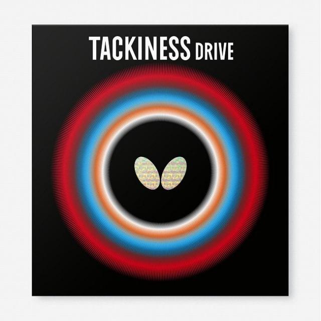バタフライ(Butterfly) TACKINESS DRIVE タキネスドライブ 粘着性裏ラバー 卓球ラバー 05410(21y8m)
