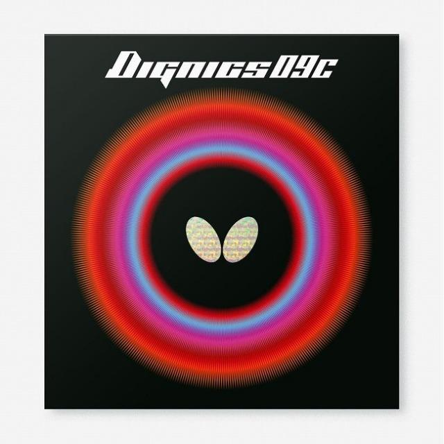 バタフライ(Butterfly) Dignics 09C ディグニクス09シー 粘着性ハイテンション裏ラバー 卓球ラバー 06070(21y8m)