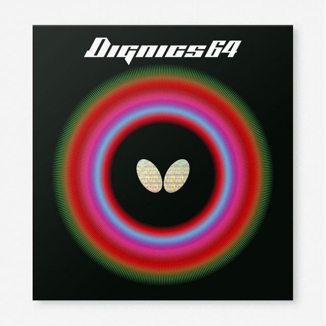 バタフライ(Butterfly) Dignics 64 ディグニクス64 ハイテンション裏ラバー 卓球ラバー 06060(21y8m)