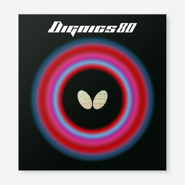 バタフライ(Butterfly) Dignics 80 ディグニクス80 ハイテンション裏ラバー 卓球ラバー 06050(21y8m)