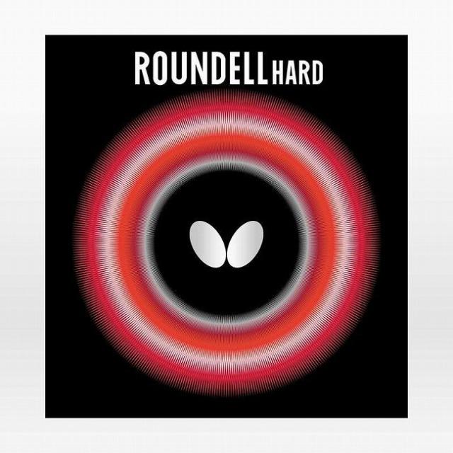 在庫処分特価】バタフライ(Butterfly) ROUNDELL HARD ラウンデル ハード ハイテンション裏ラバー 卓球ラバー 05890(21y4m)