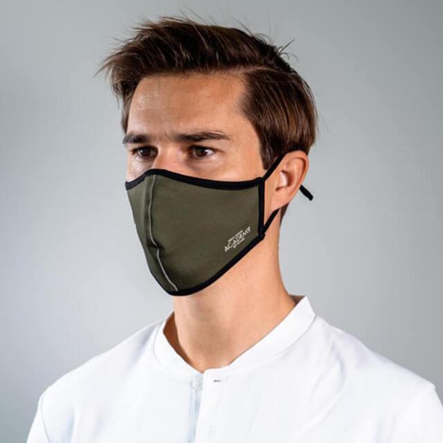 ラファエル・ナダル(Rafa Nadal) 大人用 RAFA NADAL ACADEMY 布製スポーツマスク カーキ (21y3m)