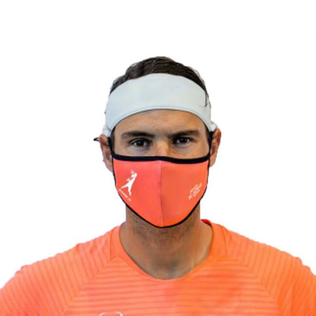 [2021全豪オープンエディション]ラファエル・ナダル(Rafa Nadal) 大人用 RAFA NADAL ACADEMY 布製スポーツマスク メルボルン2021 (21y3m)