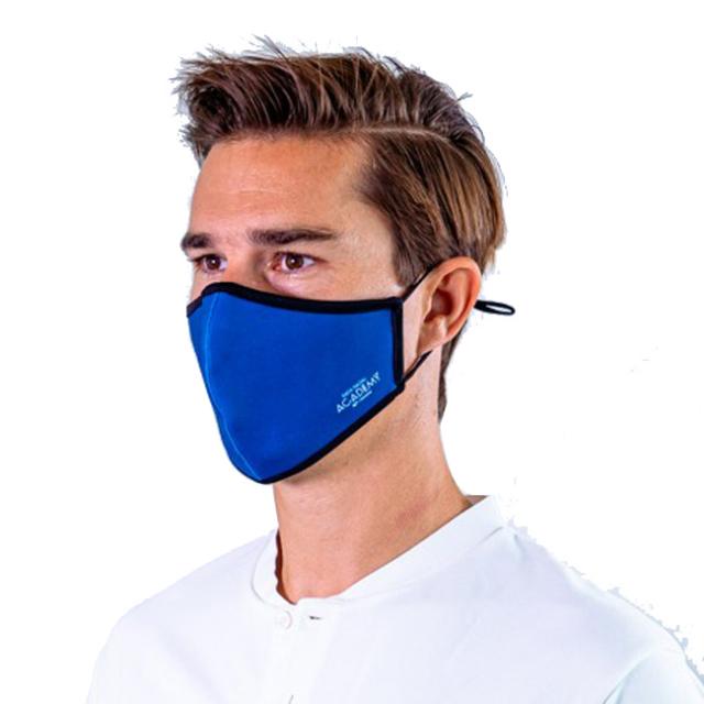 [バモス・ラファ]ラファエル・ナダル(Rafa Nadal) 2020 大人用(ユニセックス) RAFA NADAL ACADEMY 布製スポーツマスク OL MASCADULTOAZVAMOS-ブルー(20y12m)