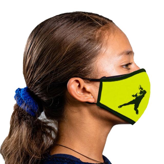 ラファエル・ナダル(Rafa Nadal) 2020 ジュニア(ユニセックス) RAFA NADAL ACADEMY 布製スポーツマスク OL MASC INF AM-イエロー(20y12m)