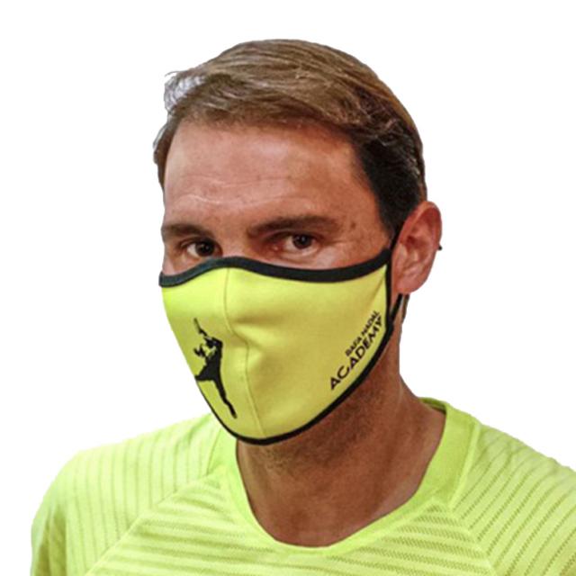ラファエル・ナダル(Rafa Nadal) 2020 大人用(ユニセックス) RAFA NADAL ACADEMY 布製スポーツマスク OL MASCADULTOAM-イエロー(20y12m)