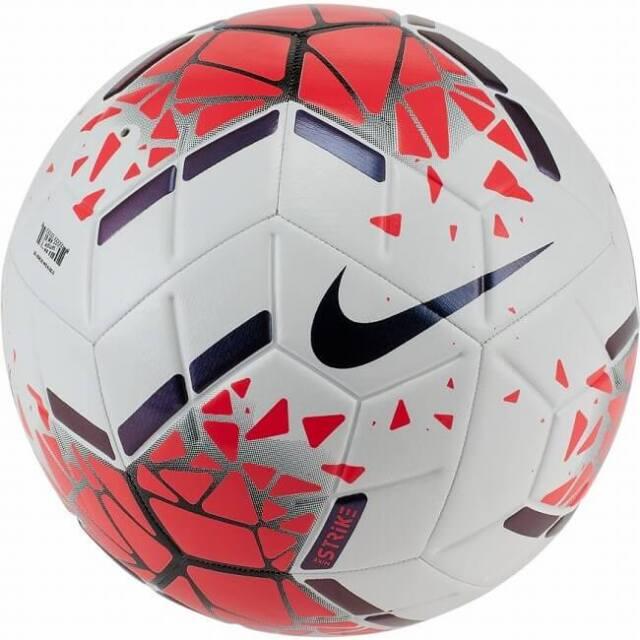 ナイキ(NIKE) ストライク サッカーボール SC3639-105 ホワイト×レーザークリムゾン(20y7m)