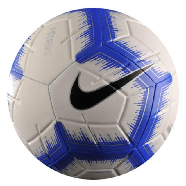 在庫処分特価】ナイキ(NIKE) STRIKE(ストライク) サッカーボール 小学校低学年向け3号球 SC3310-104 ホワイト×レーサーブルー(20y6m)