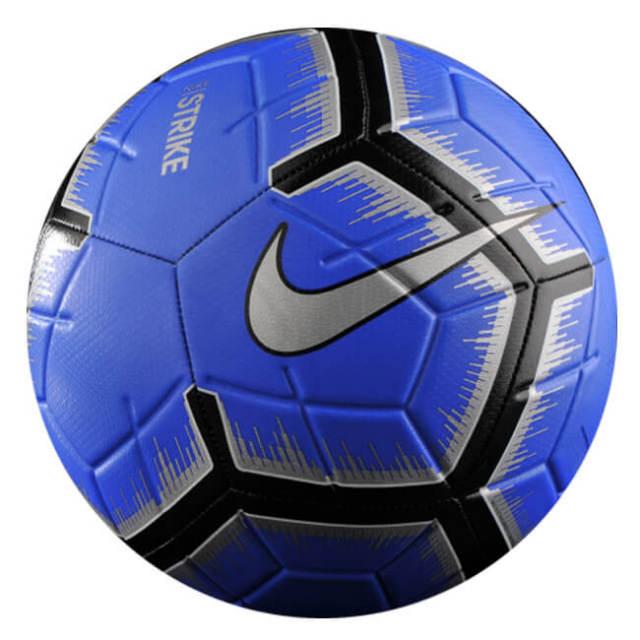 在庫処分特価】ナイキ(NIKE) STRIKE(ストライク) サッカーボール 小学校低学年向け3号球 SC3310-410 レーサーブルー×ブラック(20y6m)