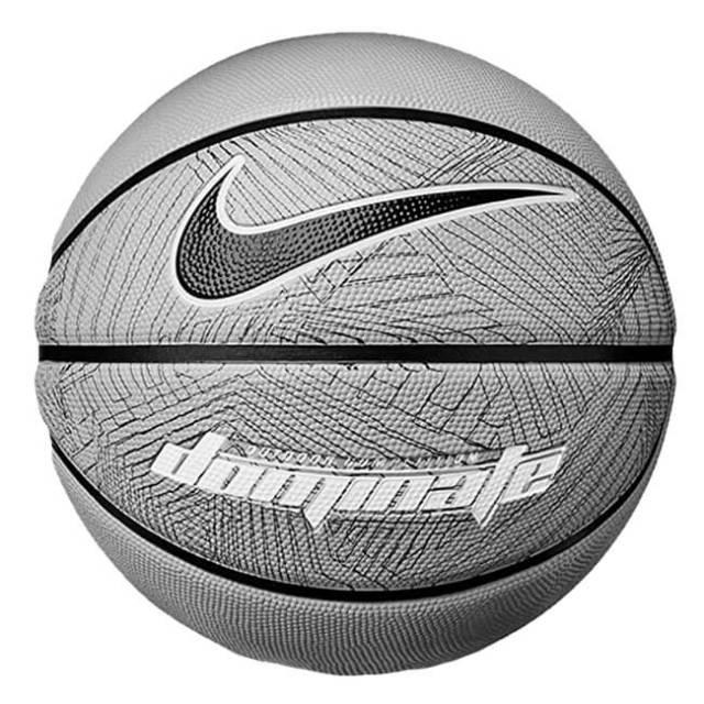 ナイキ(NIKE) dominate(ドミネート) 8P バスケットボール 中学生以上男子向け7号球 BS3004-032 ダークグレー×ブラック(20y6m)