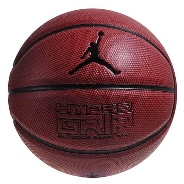 ナイキ(NIKE) ジョーダン ハイパーグリップ 4P バスケットボール 中学生以上男子向け7号球 JD4001-858 ダークアンバー×ブラック(20y6m)