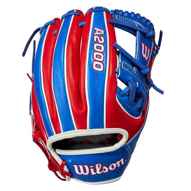 [ドミニカ共和国]ウィルソン(Wilson) 2021 A2000シリーズ カントリープライド 限定版 1786 11.5インチ 内野手用グローブ WBW100304115-DOMINICAN(21y2m)
