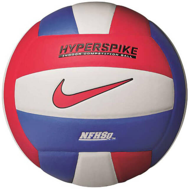 ナイキ(NIKE) HYPERSPIKE ハイパースパイク 18P バレーボール 屋内用ボール VB1005-113 ホワイト×ゲームロイヤル(21y4m)