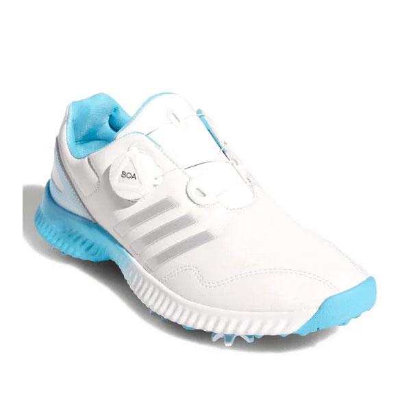 アディダス(adidas) レディース レスポンス バウンス BOA ソフトスパイク ゴルフシューズ BD7191(20y10mゴルフ)