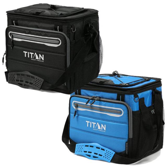タイタン(TITAN) ハードコア 40缶収納 折り畳みクーラーバッグ  1330878(21y2m)
