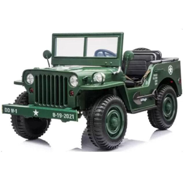 「本物みたいに動かせる!」池商(IKESHO) RAMASU 子ども用 電動乗用玩具 ミリタリー風トラック 大型電動乗用カー RA-4WJ(21y9m)