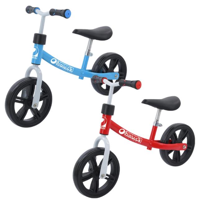 「ハンドル、サドルの高さ調節可能」ハウク(HAUCK)エコライダー バランスバイク 2-4歳向け 21633(21y8m)