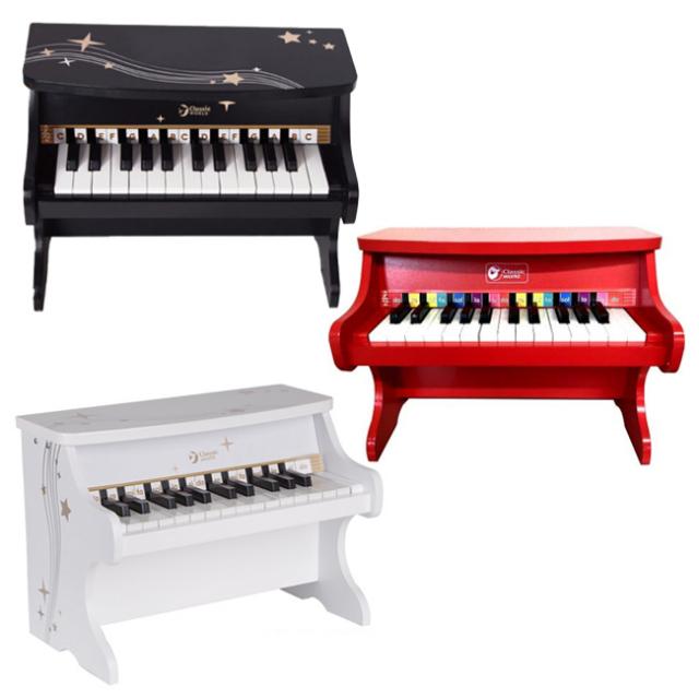 クラシックワールド(Classic World) STAR PIANO アップライトミニピアノ 25鍵盤 ハンドクラフト 40555(20y11m)