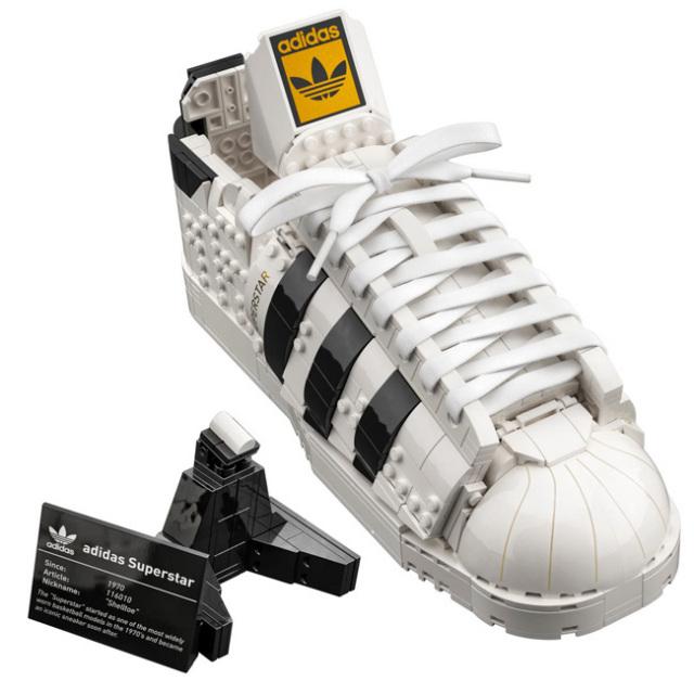 「組み立てて飾ろう!」レゴ(LEGO) アディダス オリジナルス スーパースター おもちゃ ブロック 10282(21y10m)