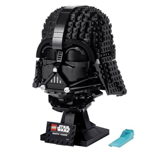 「大人レゴコレクション」レゴ(LEGO) スターウォーズ ダース・ベイダー ヘルメット おもちゃ ブロック 75304(21y10m)