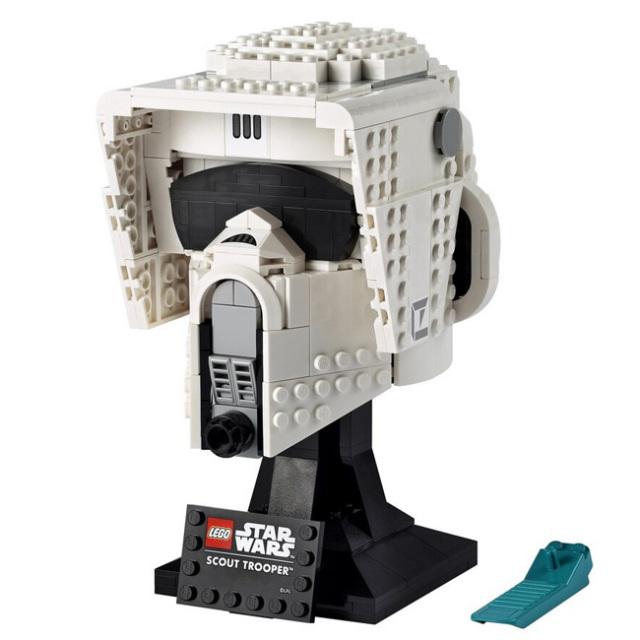 「大人レゴコレクション」レゴ(LEGO) スターウォーズ スカウト・トルーパー ヘルメット おもちゃ ブロック 75305(21y10m)