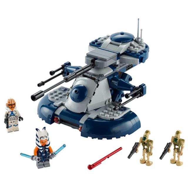 レゴ(LEGO) スターウォーズ 装甲型強襲用戦車 ARMORED ASSAULT TANK(AAT) 75283(21y6m)