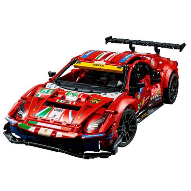 レゴ(LEGO) テクニック フェラーリ 488 GTE AF コルセ #51 大人向けレゴ組み立てコレクション 42125(21y6m)
