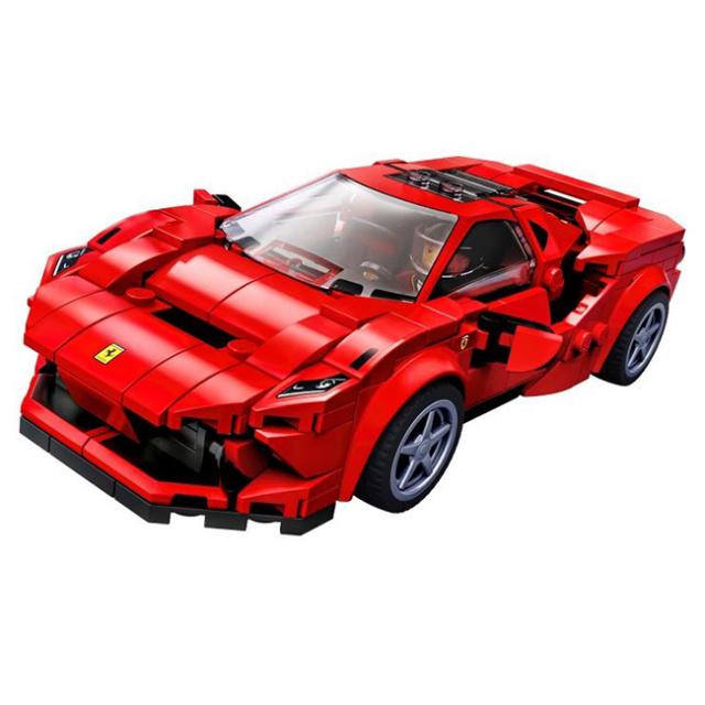 レゴ(LEGO) スピードチャンピオンズ フェラーリ F8 トリビュート 76895(21y5m)