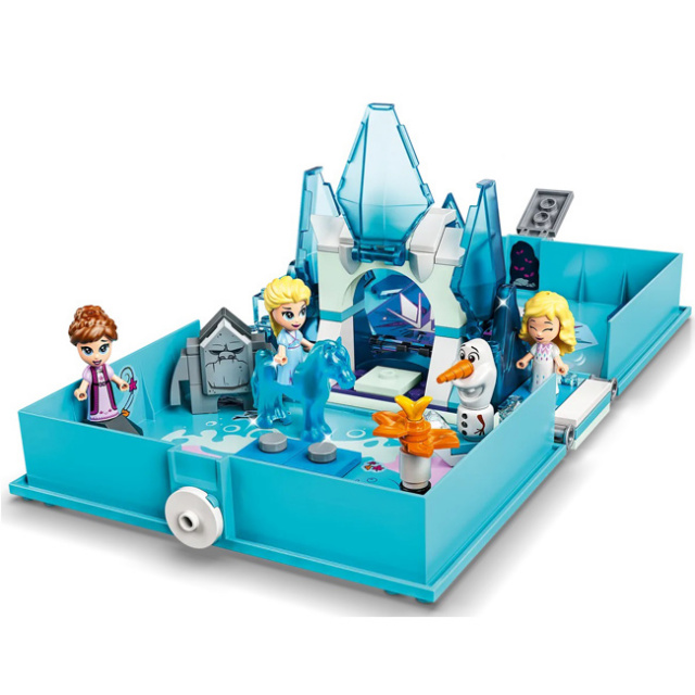 レゴ(LEGO) ディズニープリンセス アナと雪の女王2 エルザとノックのぼうけんストーリーブック 43189(21y5m)