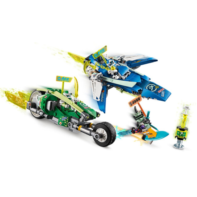 レゴ(LEGO) NINJAGO ニンジャゴー Jay and Lloyd's Velocity Racers ニンジャデッドヒート 71709(21y4m)