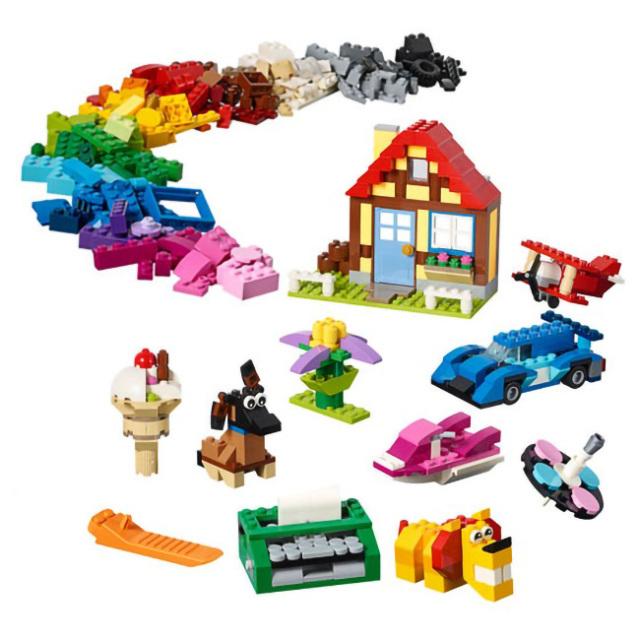 レゴ(LEGO) クラシック クリエイティブファン 900ピース 11005(21y3m)