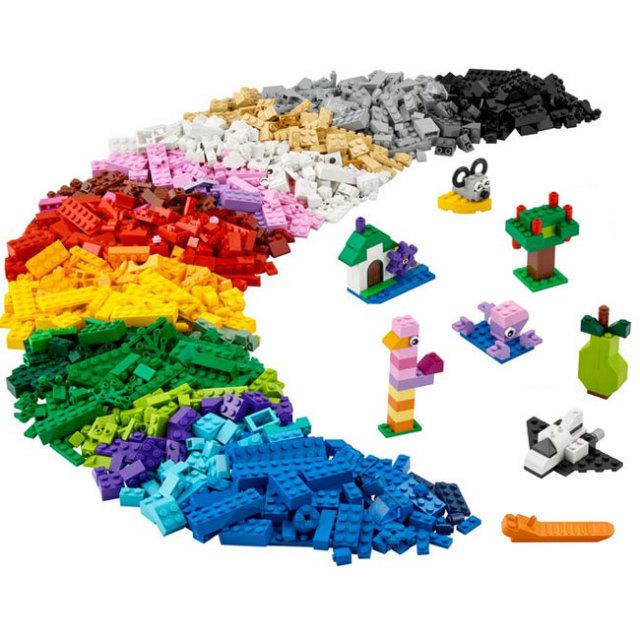 レゴ(LEGO) クラシック アイデアパーツ 1200ピース 11016(21y3m)