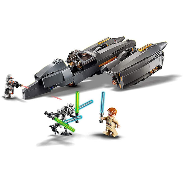 レゴ(LEGO) STAR WARS スターウォーズ グリーバス将軍のスターファイター 487ピース ミニフィグ3体付き 75286(20y12m)