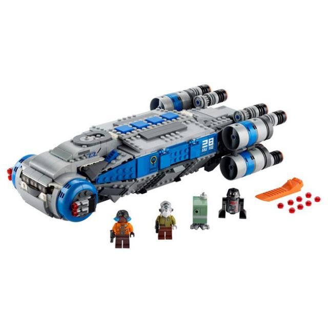 レゴ(LEGO) スターウォーズ レジスタンス I-TS トランスポート 75293(20y12m)