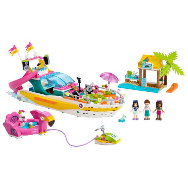 レゴ(LEGO) レゴフレンズ フレンズのパーティーボート おもちゃ ブロック 41433(20y12m)