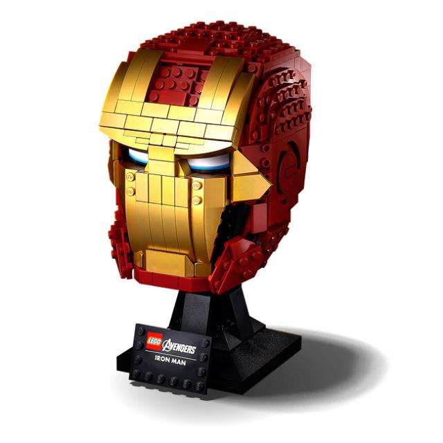 レゴ(LEGO) マーベルスーパーヒーローズ アイアンマン ヘルメット おもちゃ ブロック 76165(20y12m)